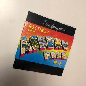 """Bruce Springsteen: """"Greetings from Asbury Park, N.J."""" (1973)"""