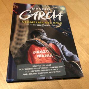"""Manolo García: """"Geometría del rayo – Edición especial"""" (2018)"""