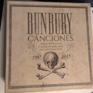 """Bunbury: """"Canciones. 1987-2017"""" (2019)"""