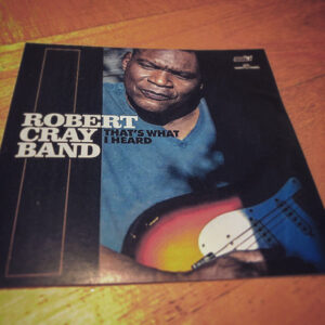 "Robert Cray Band: ""That's what I heard"" (2020)"
