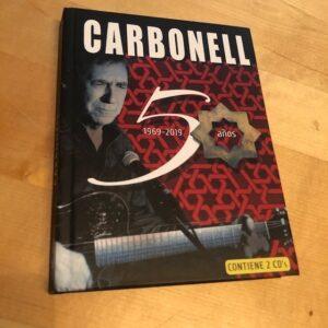"""Joaquín Carbonell: """"50 años. 1969-2019"""" (2020)"""