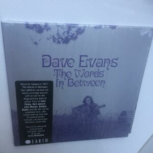 "Dave Evans: ""The words in between"" (1971)"