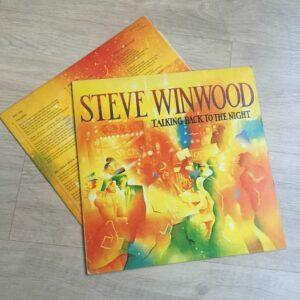 "Steve Winwood: ""Talking back to the night"" (1982)"